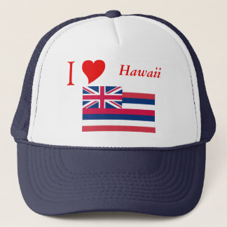 Hawaii State Flag Trucker Hat