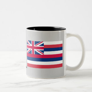 Hawaii State Flag Two-Tone Coffee Mug
