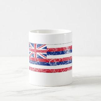 Hawaii State Flag Vintage Coffee Mug