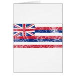 Hawaii State Flag Vintage Greeting Cards