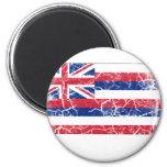Hawaii State Flag Vintage Magnet