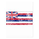 Hawaii State Flag Vintage Postcards