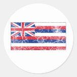 Hawaii State Flag Vintage Sticker