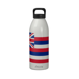 Hawaii State Flag Water Bottle