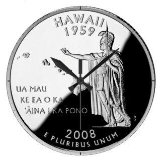 Hawaii State Quarter Clock
