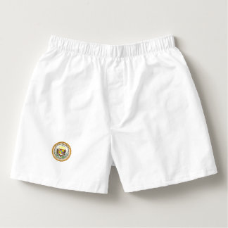 Hawaii State Seal Boxers