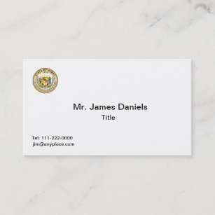 State of hawaii business cards templates zazzle hawaii state seal business card templates reheart Gallery