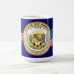 Hawaii State Seal Classic White Coffee Mug
