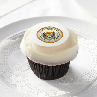 Hawaii State Seal Edible Frosting Rounds