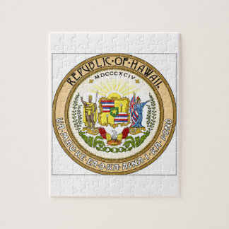 Hawaii State Seal Puzzles