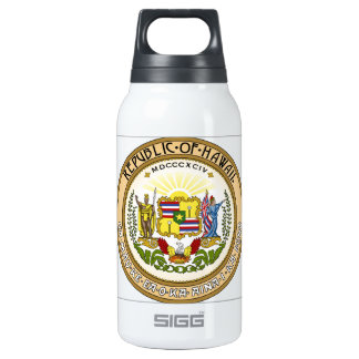 Hawaii State Seal Thermos Bottle