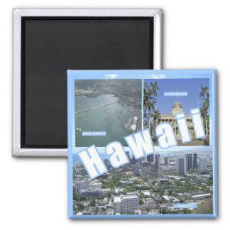 Hawaii State Travel Photo Souvenir Fridge Magnets