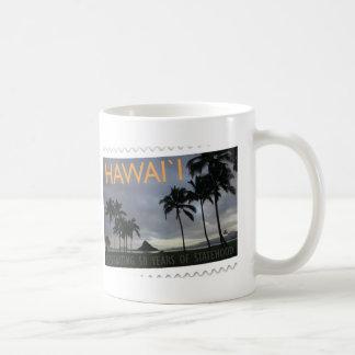 Hawaii Statehood 50th anniversary Classic White Coffee Mug