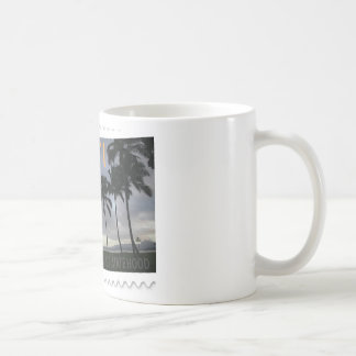 Hawaii Statehood 50th anniversary Coffee Mugs