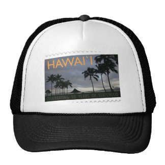 Hawaii Statehood 50th anniversary Hat