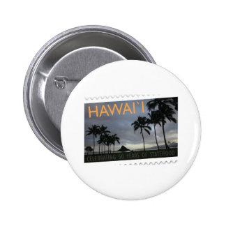 Hawaii Statehood 50th anniversary Pins