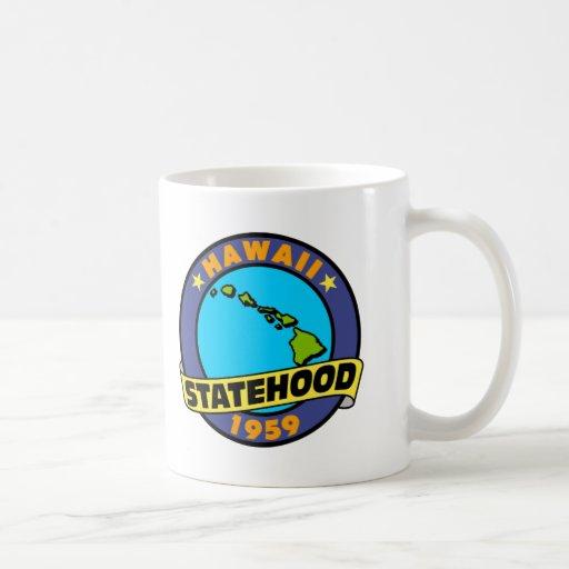 Hawaii Statehood Mugs