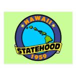 Hawaii Statehood Post Cards