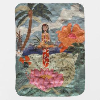 Hawaii Stroller Blanket