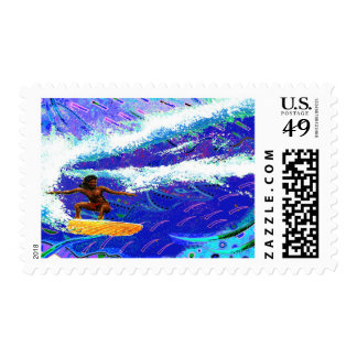 Hawaii Styles Postage Stamps