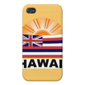 Hawaii Sumburst Cover For iPhone 4