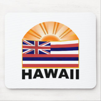 Hawaii Sunburst Mousepad