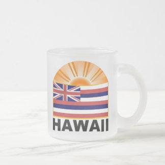 Hawaii Sunburst Coffee Mugs
