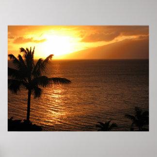 Hawaii Sunset II Poster