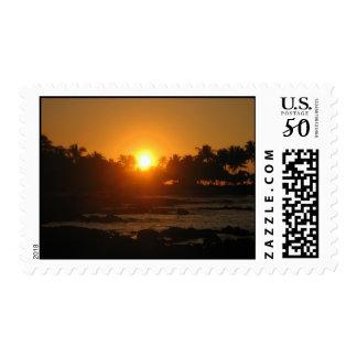 Hawaii Sunset Postage