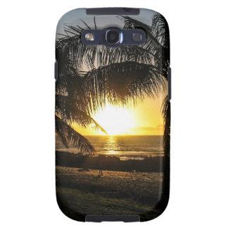 Hawaii Sunset Sharks Cove Samsung Galaxy S3 Covers