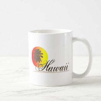 Hawaii Sunset Souvenir Coffee Mug