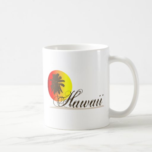 Hawaii Sunset Souvenir Mug