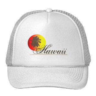 Hawaii Sunset Souvenir Trucker Hat