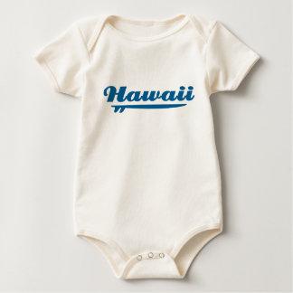 Hawaii surfboard baby creeper