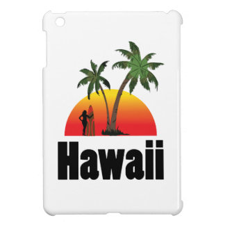 hawaii surfer iPad mini case