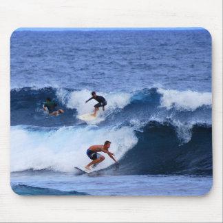 Hawaii Surfers Mouse Pad