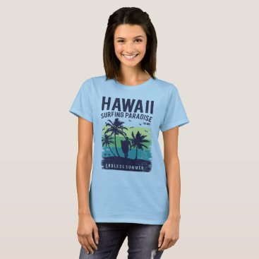 Hawaii Surfing Paradise Endless Summer T-Shirt