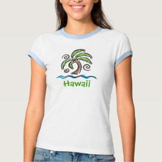 Hawaii Swaying Palm T-shirts