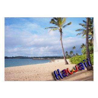 Hawaii Tarjeta De Felicitación