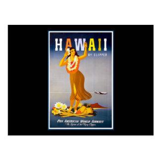 Hawaii Tarjeta Postal