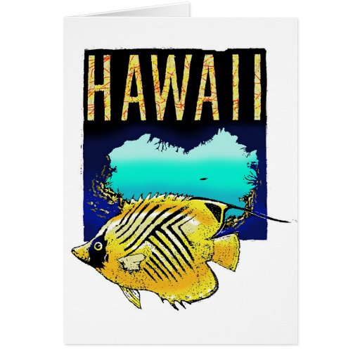 HAWAII TARJETÓN