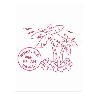 Hawaii Tarvel Postcard