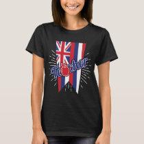 Hawaii Teacher Gift - HI Teaching Home State Pride T-Shirt