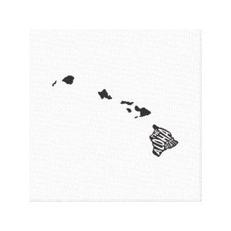 Hawaii: The Aloha State Canvas Print