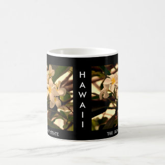 "Hawaii ""The Aloha State"" Lei Flower Coffee Mug"