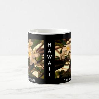 """Hawaii """"The Aloha State"""" Lei Flower Coffee Mug"""