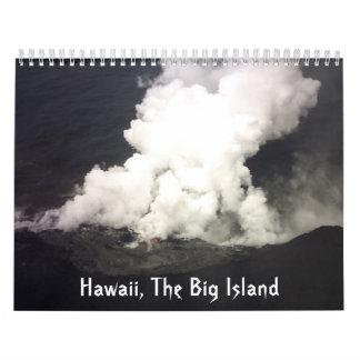 Hawaii The Big Island Calendar