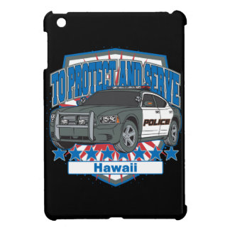 Hawaii To Protect and Serve Police Car Cover For The iPad Mini