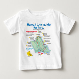 Hawaii Tour Guide For Hire Baby T-Shirt