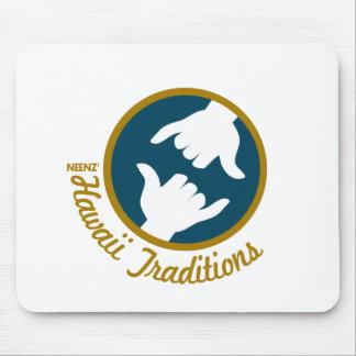 Hawaii Traditions Logo Mousepad